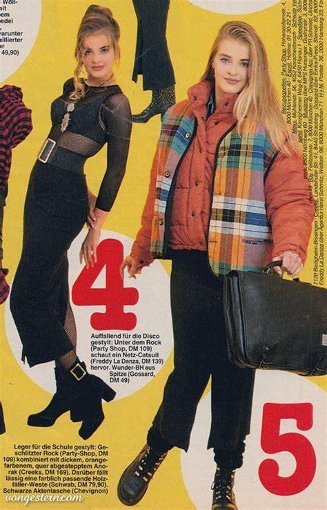 90er Mode Typisch by Top Mode Die Du In Den 90ern Gerne Getragen H 228 Ttest