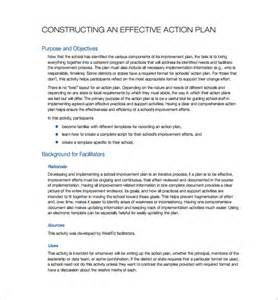 effective business plan template simple plan template 13 free sle exle