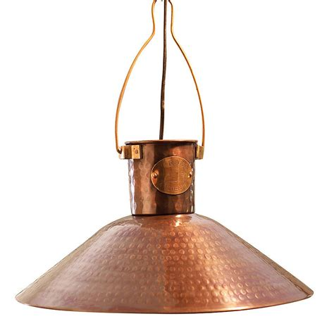 Large Hanging Lantern Chandelier Copper Pendant Light By Country Lighting