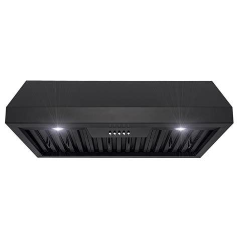 black stainless steel cabinet range akdy 30 in 400 cfm kitchen cabinet range with