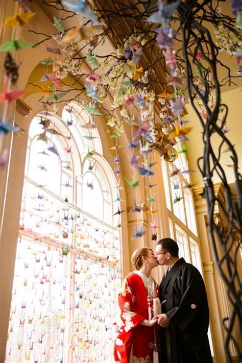 Drew and Lynn?s Japanese themed Wedding with 1000 Paper