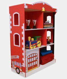 Kidkraft Firehouse Bookcase 1000 Images About Feuerwehr Kinderzimmer On Pinterest