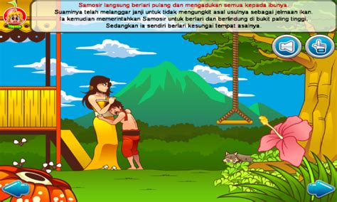 Legenda Dan Dongeng Nusantara Telaga Biru dongeng rakyat indonesia