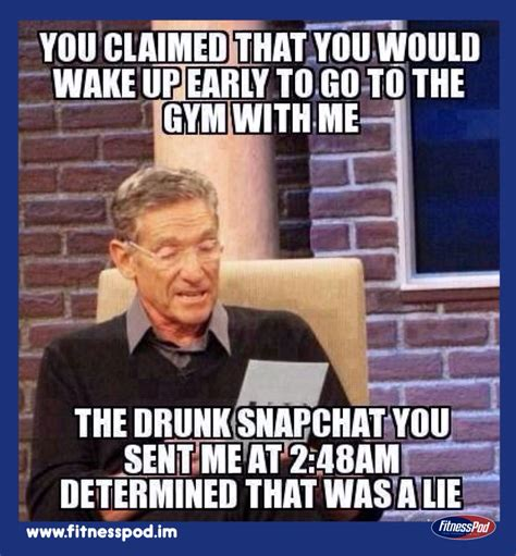 Workout Partner Meme - always difficult to find a reliable early morning workout