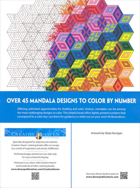 beautiful color by number mandalas books mandalas color by number creative 044804 details