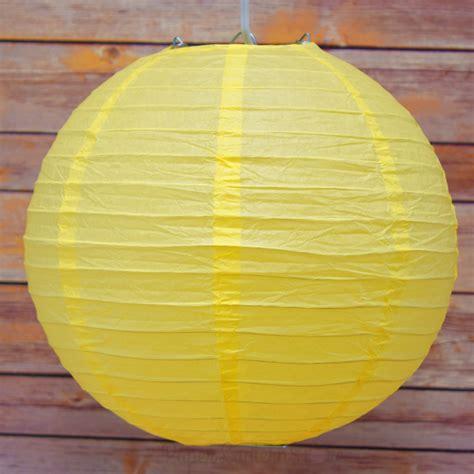 Paper Lanterns - paper lantern even ribbing hanging light not