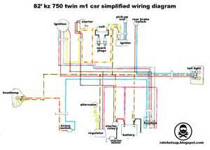 simplified minimal kz750 csr wiring diagram kzrider forum kzrider kz z1 z motorcycle