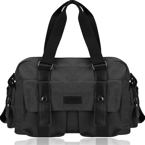 Tote Messenger Bag Black bags backpacks tote bags canvas tote messenger
