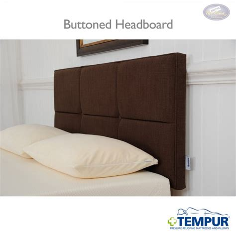 Tempur Headboard by Tempur Auvergne Buttoned Headboard At Smiths The Rink Harrogate