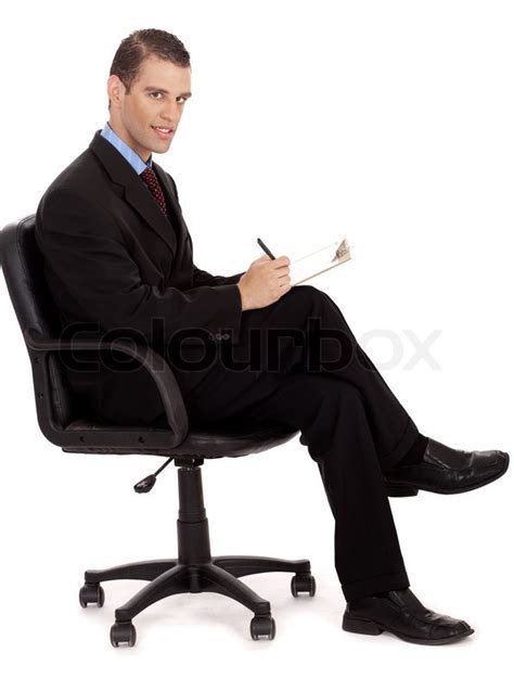 Office Chair Wiki professional business men taking notes sitting in the