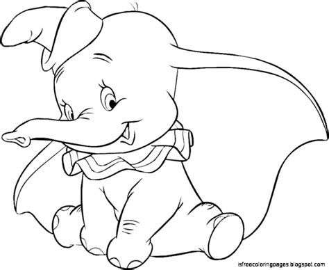 Dumbo Coloring Pages Free Coloring Pages Dumbo Pictures To Color