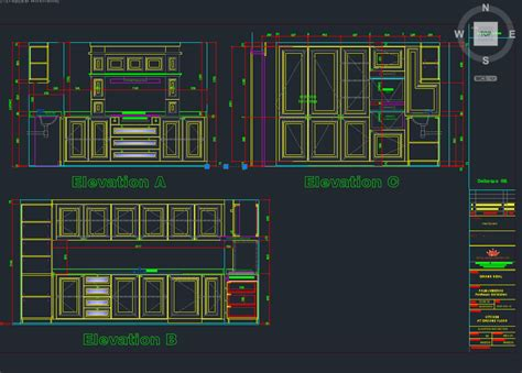 Kitchen Design Software Freeware sample 2d cad drawing autocad 3d cad model grabcad