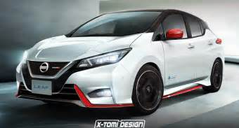 Nissan Leaf Nismo Rumored Nissan Leaf Nismo Could Look Pretty Much Like This