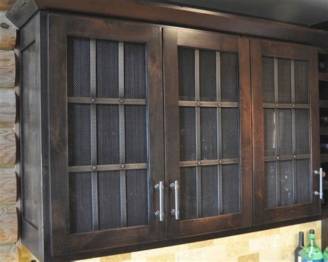 Wire Mesh Inserts For Cabinet Doors by Wire Mesh Door Inserts Home Design Ideas Pictures