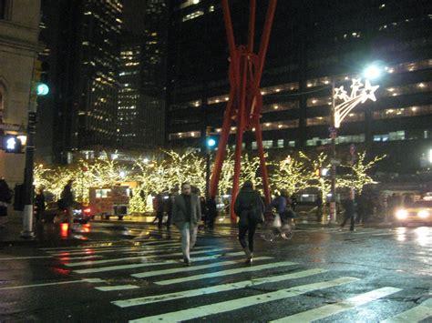 holiday lights in manhattan bottledworder