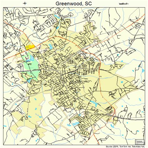 Records Greenwood Sc Greenwood South Carolina Map 4530895