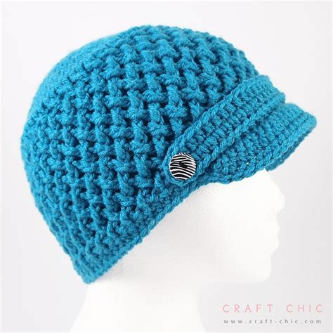 free pattern newsboy hat criss cross newsboy hat by ana benson free crochet