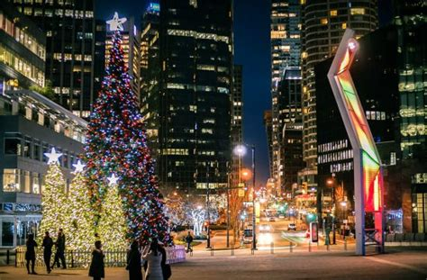 vancouver christmas tree lighting festival dazzles on dec