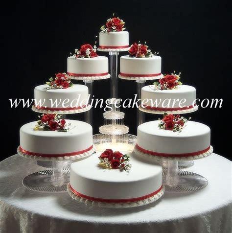 8 TIER CASCADING WEDDING CAKE STAND STANDS SET   eBay