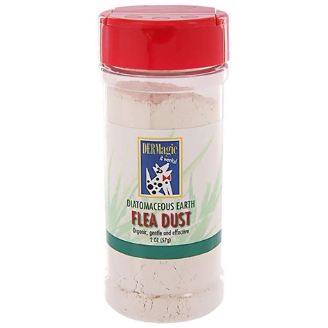 can i put diatomaceous earth on my dermagic diatomaceous earth flea dust 2 oz