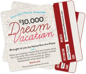 home run inn savor each moment sweepstakes