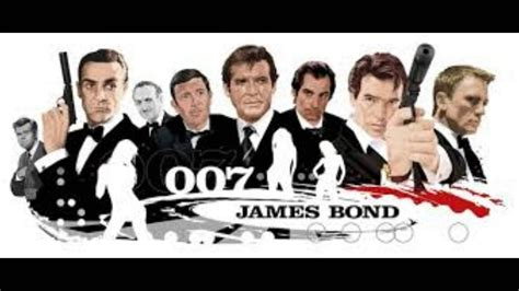 film james bond adegan panas 8 james bond 007 actors in 53 years youtube