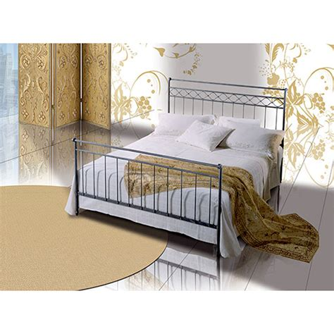 Handmade Iron Beds - wrought iron small bed efesto handmade in italy