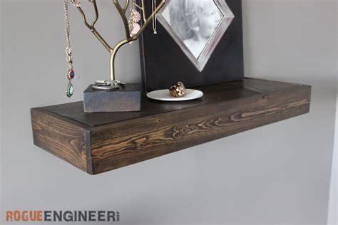 Shelf S Secret by Diy Secret Floating Shelf Free Plans Rogue Engineer