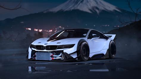 modified bmw i8 bmw i8 custom 183 ibackgroundwallpaper