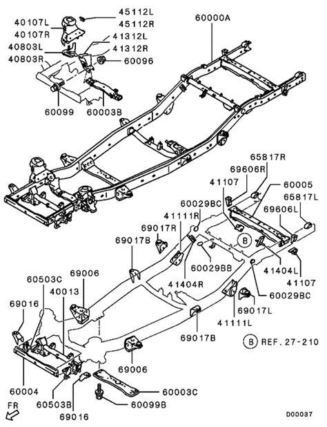 mitsubishi l200 parts diagram periodic diagrams science