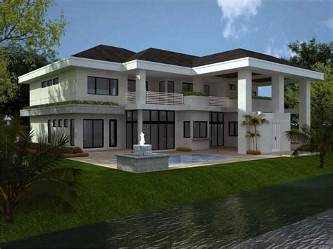 Floridian House Plans by Bulfor Construcciones Barranquilla Colombia Plano