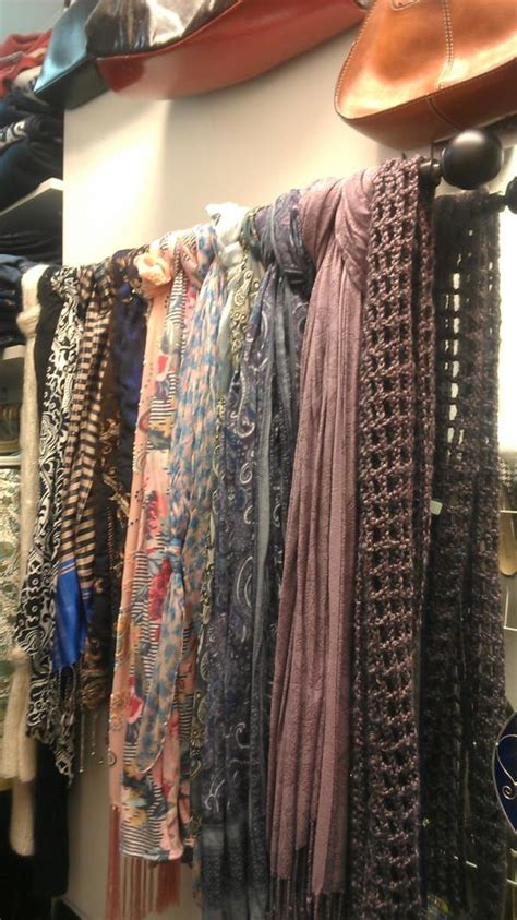 How To Organize Scarves In Closet by How To Turn Your Closet Into A Boutique Vintage