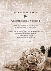 how to design wedding invitations in word free wedding invitation templates for word theruntime
