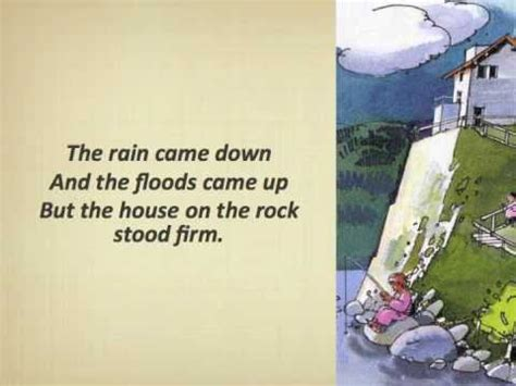 the wise man built his house upon the rock music the wise man built his house upon the rock with lyrics youtube
