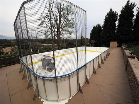 synthetic hockey boards d1 backyard rinks
