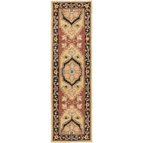 rug runners 2 x 14 artistic weavers middleton burgundy 2 ft 3 in x 14 ft indoor rug runner awhr2054 2314