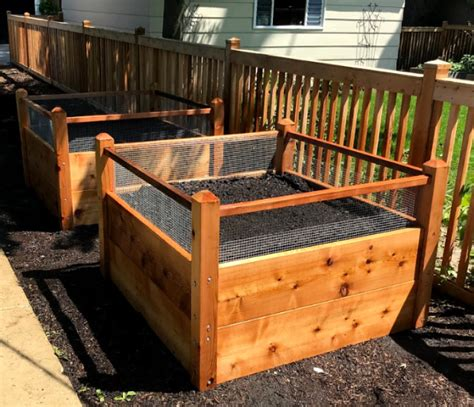 1 One 4x4 Raised Garden Bed Delivered With Soil