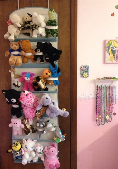 Organizing Ideas For Bedrooms stuffed animal storage neafamily com