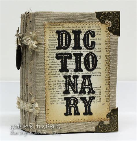 Handmade Dictionary - 17 best images about dictionary journal ideas on