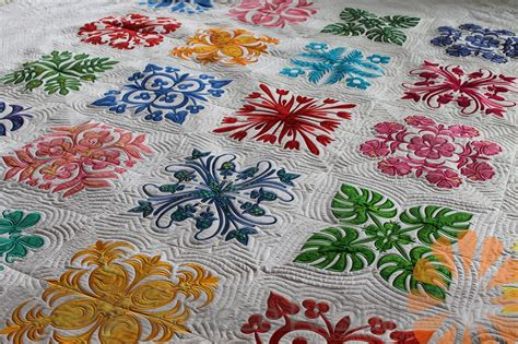 free pattern hawaiian quilt piece n quilt hawaiian quilt custom machine quilting by