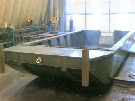 annonce imprimer custom built 2015 20 x 8 flat bottom - Flat Bottom Work Boats For Sale