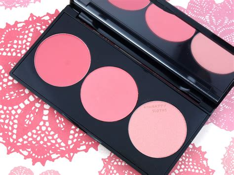 smashbox light it up blush palette smashbox l a lights blush highlight palette in quot pacific