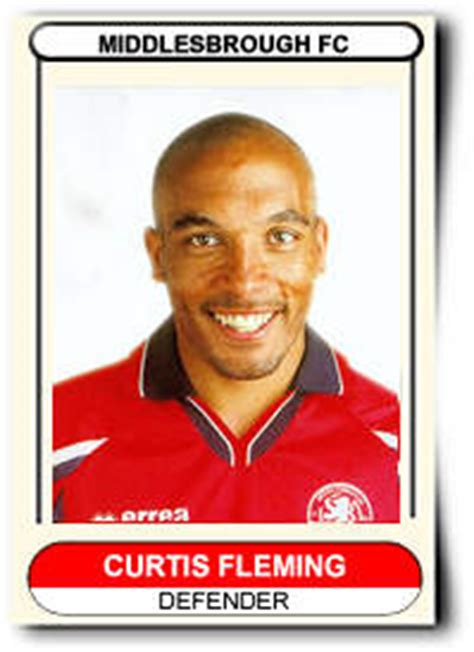 Middlesbrough Birth Records Dino S Middlesbrough Profiles Curtis Fleming