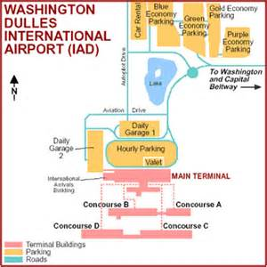 Washington Dulles Map by Map Of Washington Dulles Airport Terminal Iad