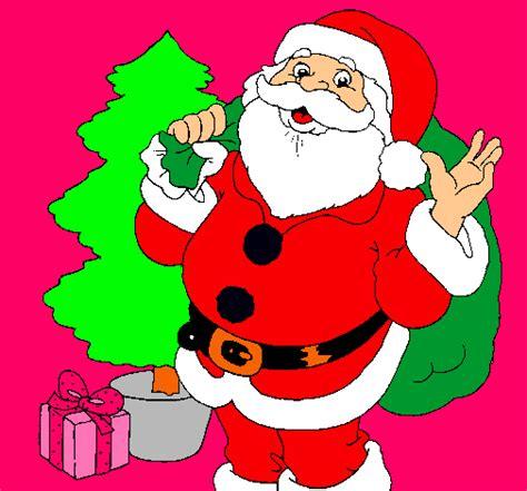 imagenes de santa claus para blackberry dibujo de santa claus y un 225 rbol de navidad pintado por