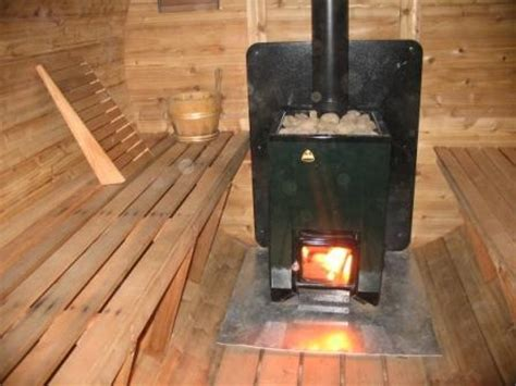 wood fired sauna heater kota family  heats  cubic