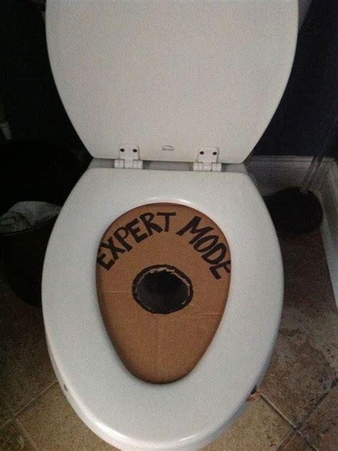 Toilet Pranks Pranks Toilet Seats And April Fools On