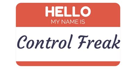Control Freak Meme - are you a control freak then high five yourself from