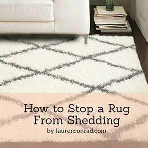 How To Stop Your From Shedding by Odds Ends How To Stop A Rug From Shedding Conrad