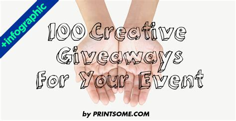 Swag Giveaway Ideas - 100 creative giveaway swag ideas for a perfect event